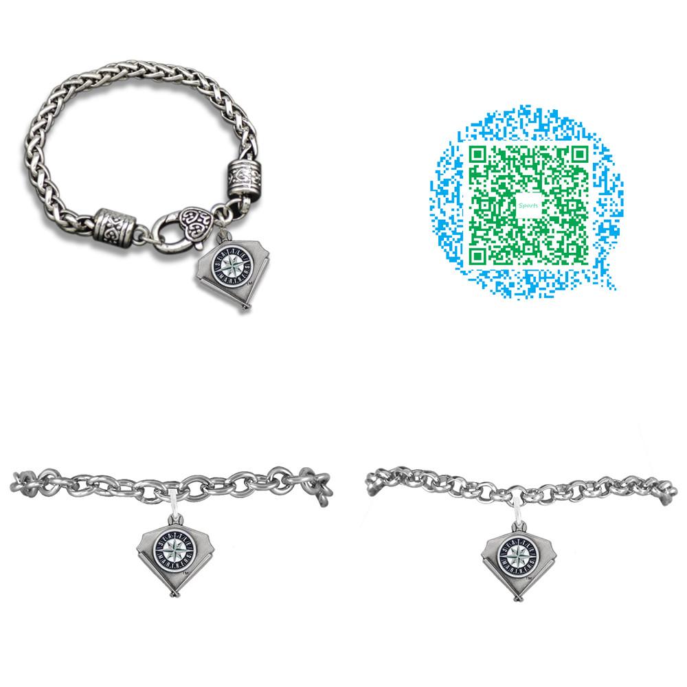Baseball Seattle Mariners Charm bracelets bangles(China (Mainland))