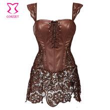 Leather Corset Gothique Dress