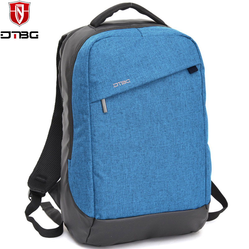 DTBG Brand Casual Notebook Backpack 15.6 inch Waterproof Laptop Backpack for Men Women Teens External USB Charge Computer Bag(China (Mainland))