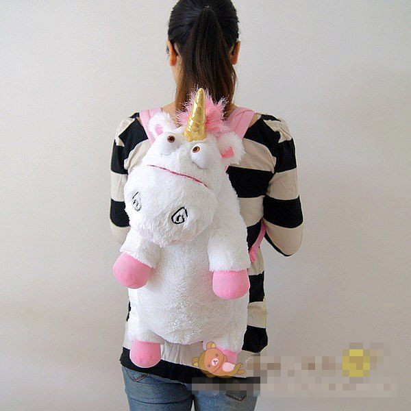 Unicorn Toys For Girls : Cartoon despicable me unicorn leisure bag plush unicorns