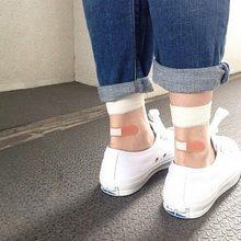 Free shipping New Japanese harajuku band Aid style kawaii cute funny socks for women cotton acrylic