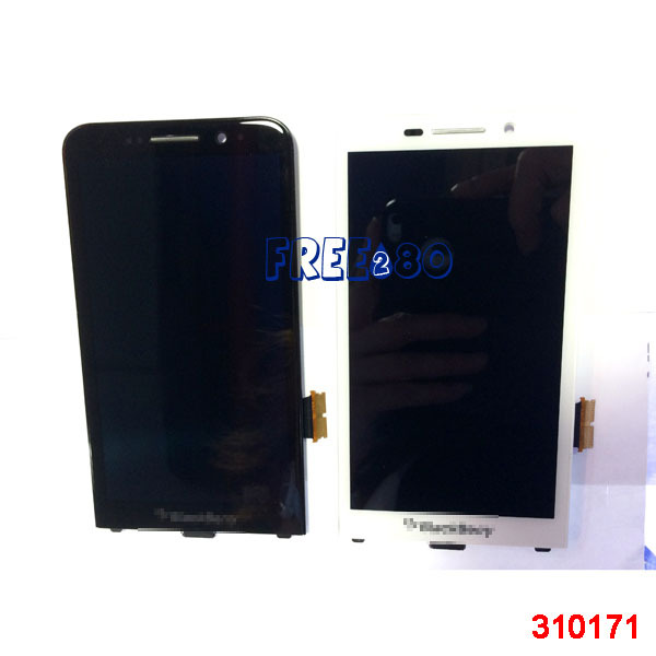 High quality for Blackberry Z30 3g version LCD digitizer screen display glass assembly Black color(China (Mainland))