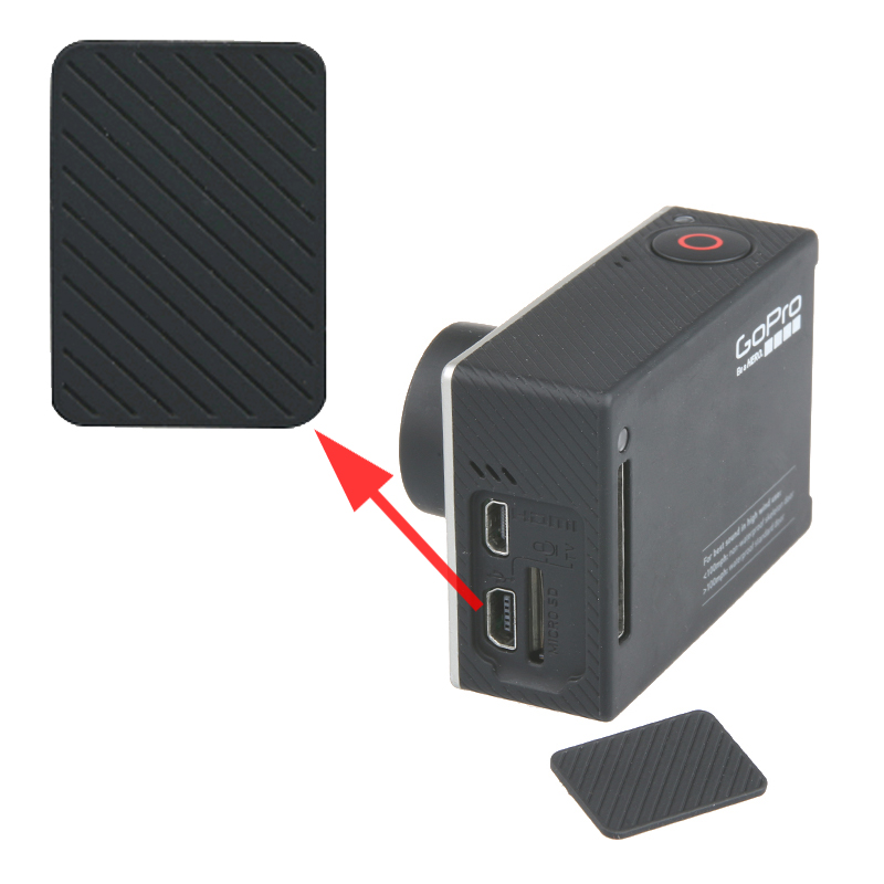New Go Pro Mini Usb Side Door Protective Cover Replacement