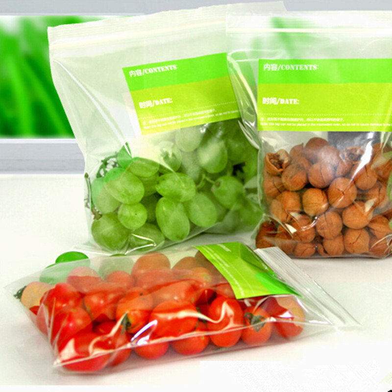 10*15cm Resealable Ziplock Clear Food Storage Bags Freshness Protection Pouch Party Retail Plastic With Printing Package Bag(China (Mainland))