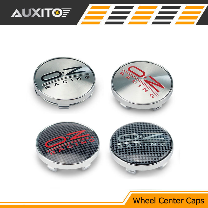 4Pcs 56mm O.Z OZ Racing Logo Car Emblem Wheel Center Hub Cap Badge Covers For Citroen Suzuki Mazda VOLKSWAGEN VW GOLF Ford focus(China (Mainland))