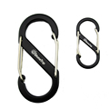 Naturehike 20 pcs 4cm Outdoor <font><b>Camping</b></font> Climbing Carabiner D Shape Mountaineering Buckle Fast Hang Mini Buckle Hook Aluminum Alloy