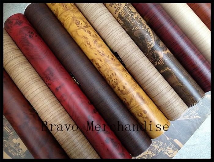 50x152cm lot automobile motorcycle car protect pvc Wood grain change color film stickers