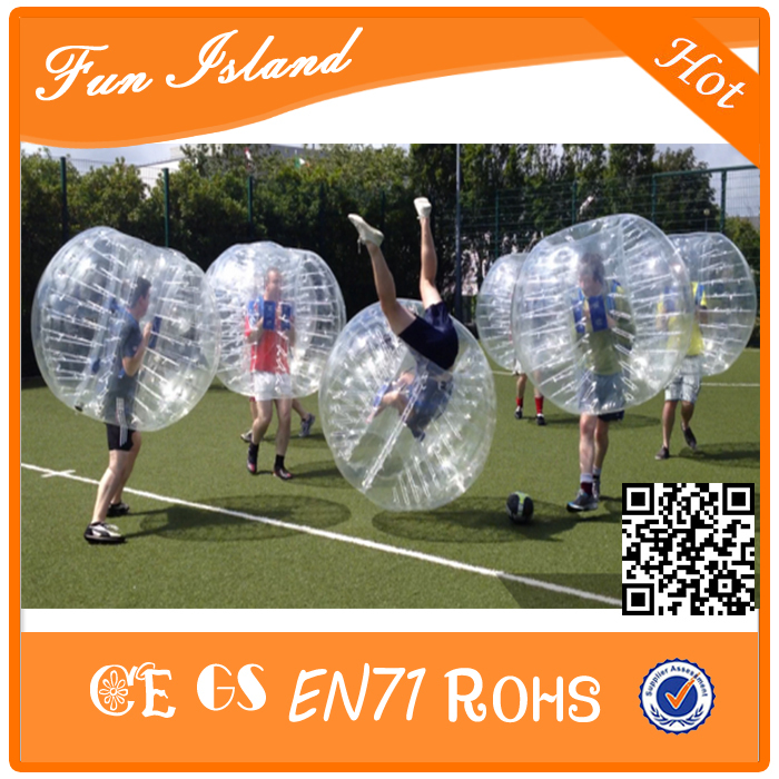 Free Shipping Bumper Ball Giant Human Body Soccer Inflatable Bubble Ball Suit For Football For Sale(China (Mainland))