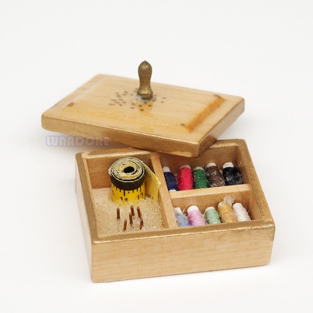 Scatola di legno di cucito promozione fai spesa di for Case kit 1 camera da letto
