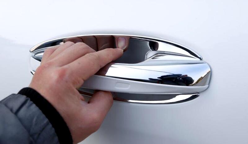 ABS Side Door handle Bowl & Door handle cover trim 13pcs  For Mercedes Benz C Class W205 2014 2015