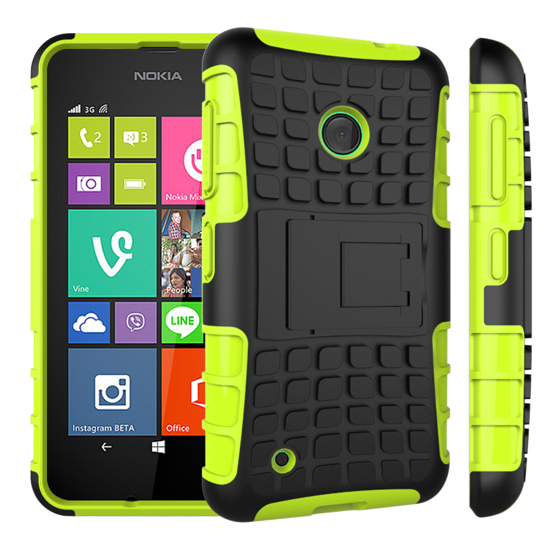 Nokia Lumia 530 Case Hybrid TPU Hard Shockproof 2 1 Stand Function Cover Cases Microsoft - dreamwork`s store