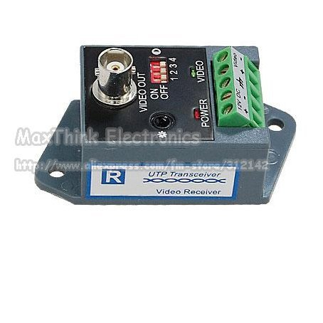 1Ch  active balun ,CCTV Unshielded Twisted Pair UTP Video Balun ,Receiver  , Free shipping