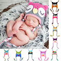 Baby Winter Hat Autumn Spring Hats Knitted  Kids Caps Children Baby Boy Hat ans Scarf Set