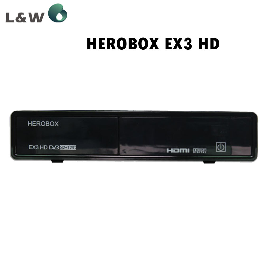 HEROBOX EX3 HD Tuner DVB-S2+T2/C BCM7358 751MHZ MIPS Processor 512MB RAM (2*256MB DDR3) Satellite Receivers(China (Mainland))