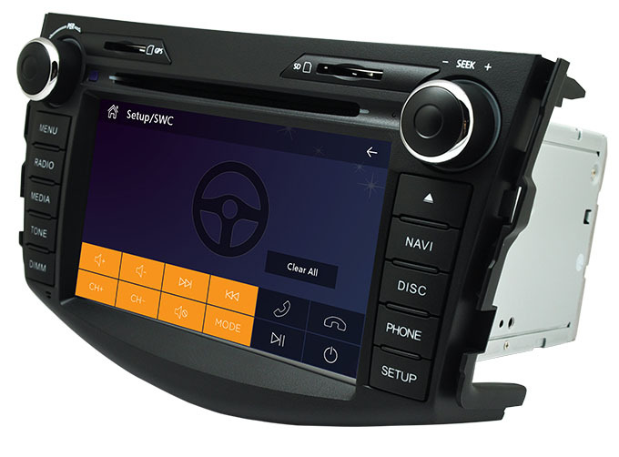 Autoradios 2din GPS Toyota RAV4 2006-2012 Bluetooth Radio RDS Steering wheel control 3G Host Free 8GB map Card - Auto-plus Store store