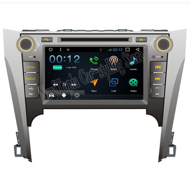 2017 Топ Автомобиля стайлинг Android 6.0 Автомобильный GPS Навигации для Toyota Camry 2012 Автомобильный DVD Радио Стерео Мультимедиа Плеер 8 дюймовый