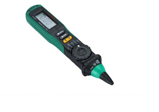 Free shipping!! MASTECH MS8211D Pen Type Meter Auto Range Digital Multimeter with clip, Non-contact AC/DC Voltage Detector(China (Mainland))
