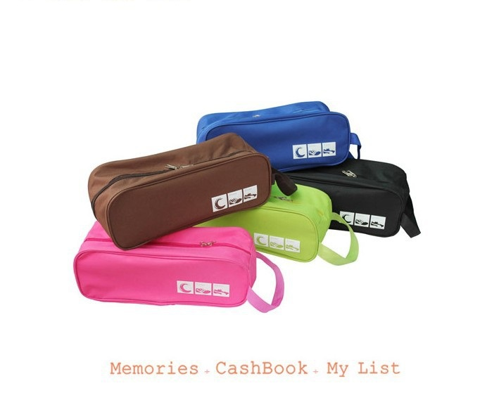 Hot Selling Travel Waterproof Shoes Storage Bag Portable Sorting Organizer Case Different shoes 6 Colors - L&P Co., Ltd. store