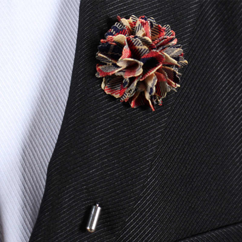 Fashion Women Floral Brooches Lapel Pin Mens Suits Accessories Flower Brooch Bouquet Long Pins Wedding Corsage Metal Pin Jewelry(China (Mainland))