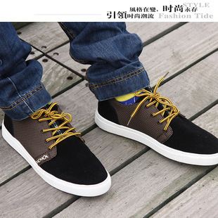 Wholesale British men 's shoes Trend shoes fashion leisure Out Door & Sport Casual shoes direct selling price increased(China (Mainland))
