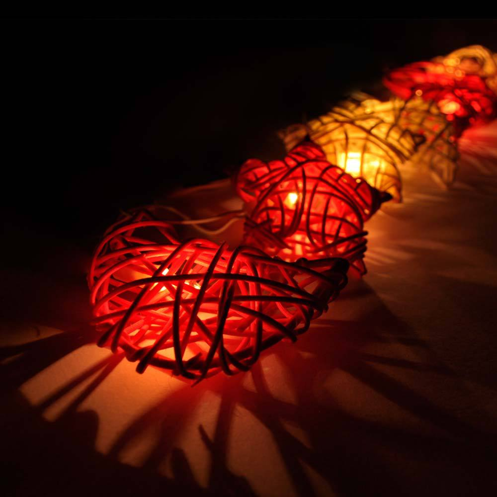 Rattan Star&Moon String Lights/Fairy/Lamp Home/Christmas Decor/Lighting,Romantic warmth