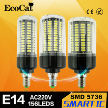 Buy LED E14 Corn Bulb 220V 110v LED lamp Flicker Strobe Smart Power IC Design High Lumen 5736 long Life Span LED lamp Spot light for $2.46 in AliExpress store