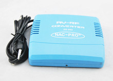 Jumping Price Newest PAL Television System TV Signal Standard 220V EU Plug Audio Video Signal Converter AV To RF Modulator(China (Mainland))