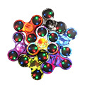 Multi Color LED Light Hand Spinner Fidget Plastic EDC Hand Spinner For Autism and ADHD Relief
