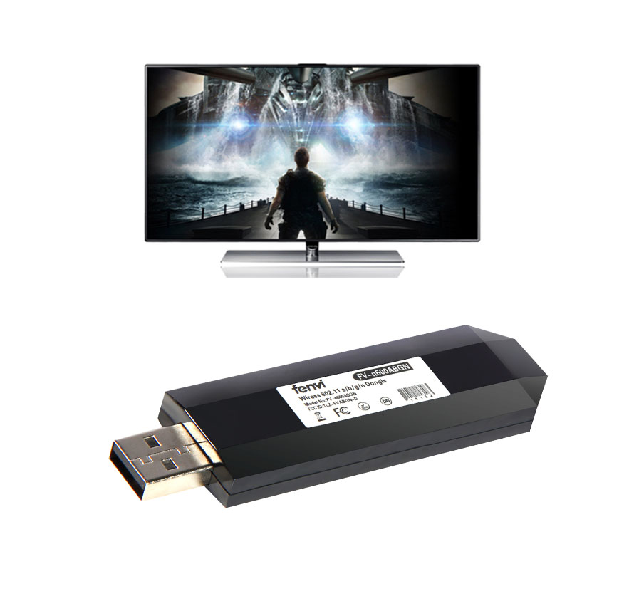 USB TV Wireless Wi-Fi Adapter for Samsung Smart TV instead WIS12ABGNX WIS09ABGN(China (Mainland))
