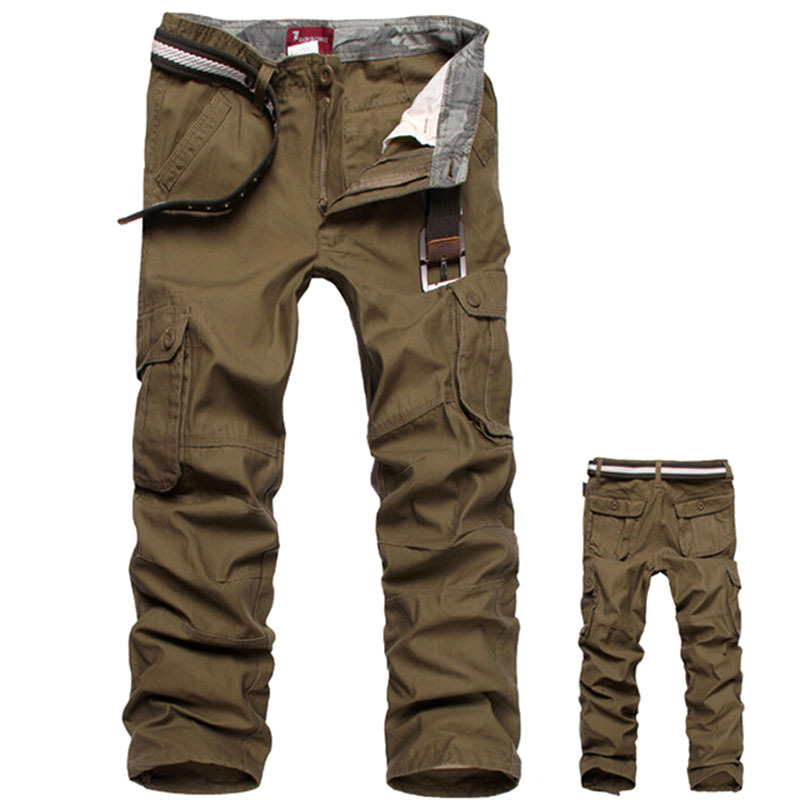 Camouflage pants Men Cargo Pants Military Army Pant 100% ...