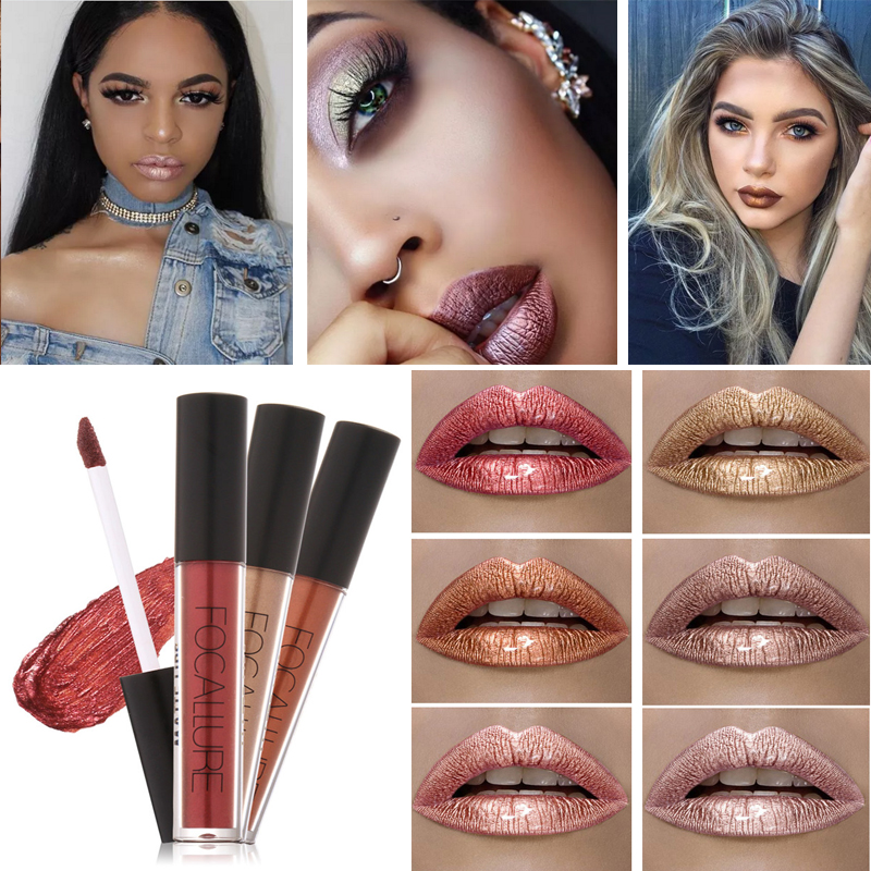 Brand focallure lipstick lip tattoo makeup long lasting for Tattooed eyeliner brand