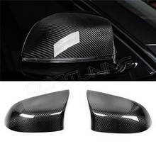 Buy 2 pieces / pair BMW X5M F85 X6M F86 Carbon Fiber Rear View Mirror Cover Add style & come double sided tape 2015 2016 for $80.00 in AliExpress store