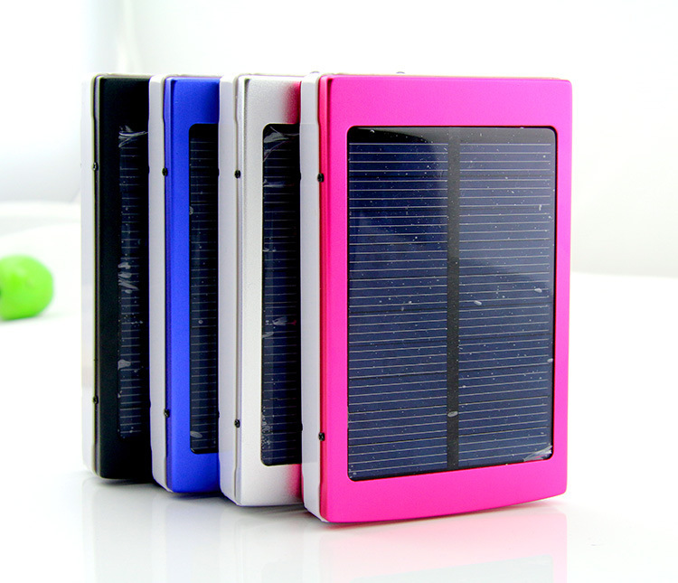 High capacity Solar Power Bank 30000mah 2 usb output Portable Battery For iphone samsung Phone Charger 100pcs with box cable(China (Mainland))