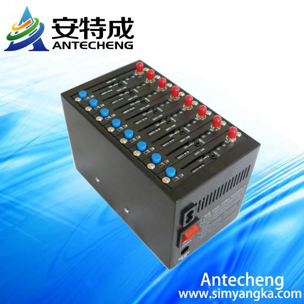 Professional usb 8 ports gsm modem pool for bulk sms sending marketing(China (Mainland))