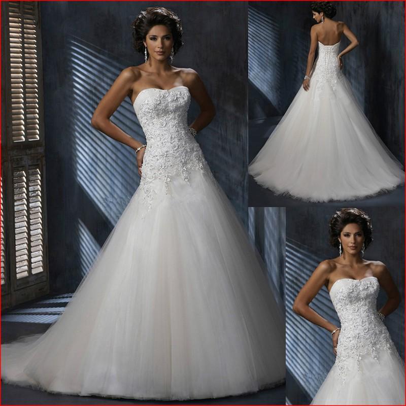Дешевые пляж длинные свадебные платья 2016 с плеча милая аппликация кружева невесты замуж платье свадебный гость платье vestidos fest