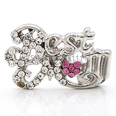 NSB1271 Snap Jewelry Fashion Button Bracelet DIY Findings Best Mom Snaps Charms - Magic Store store