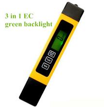 Buy 20pcs/lot Portable 3 1 Temperature compensation TDS EC PPM 0-9999 Water Meter Tester Pen Use Aquarium Pool 14% for $99.33 in AliExpress store