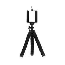 Titular Clipe de smartphones monopé tripés tripé para o telefone Móvel da câmera stativ stand tripe polvo mini tripé para telefone(China)
