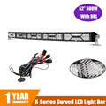 X series 500W 52 Inch Curved LED Light Bar CREE Chips with DRL Combo Beam Eagle