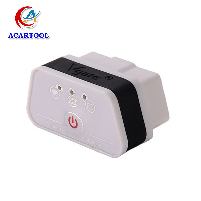 New Arrival Vgate WiFi iCar 2 OBDII ELM327 Vgate iCar2 WiFi elm327 Vgate OBD Diagnostic Scanner For iOS/Android Free shipping(China (Mainland))
