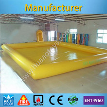 Free Shipping 9*7m Inflatable Swimming Pool for Adult and Kids(Free air pump+repair kit) any color you like(China (Mainland))