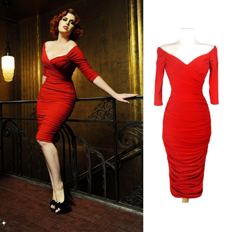 1950s vestido pin up vintage dresses 50 39 s retro off for 50 s pin up wedding dresses