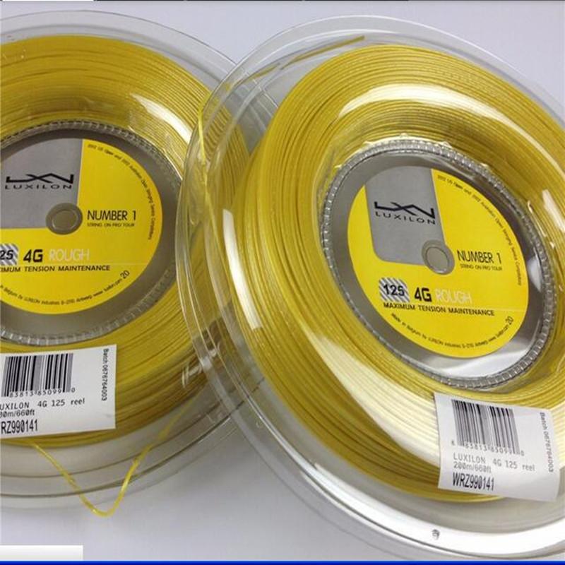 ALU Power125 220M tennis string brand tennis string/co-polyester tennis string