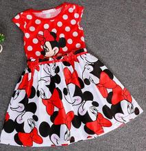 cinderella dress 2016 new children's clothing minnie dot kids dress tutu princess children dress casual girls clothes