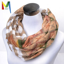 plaid infinity scarf women winter tartan scarfs dot neckerchief cape echarpes foulards femme print shawls and scarves top sale