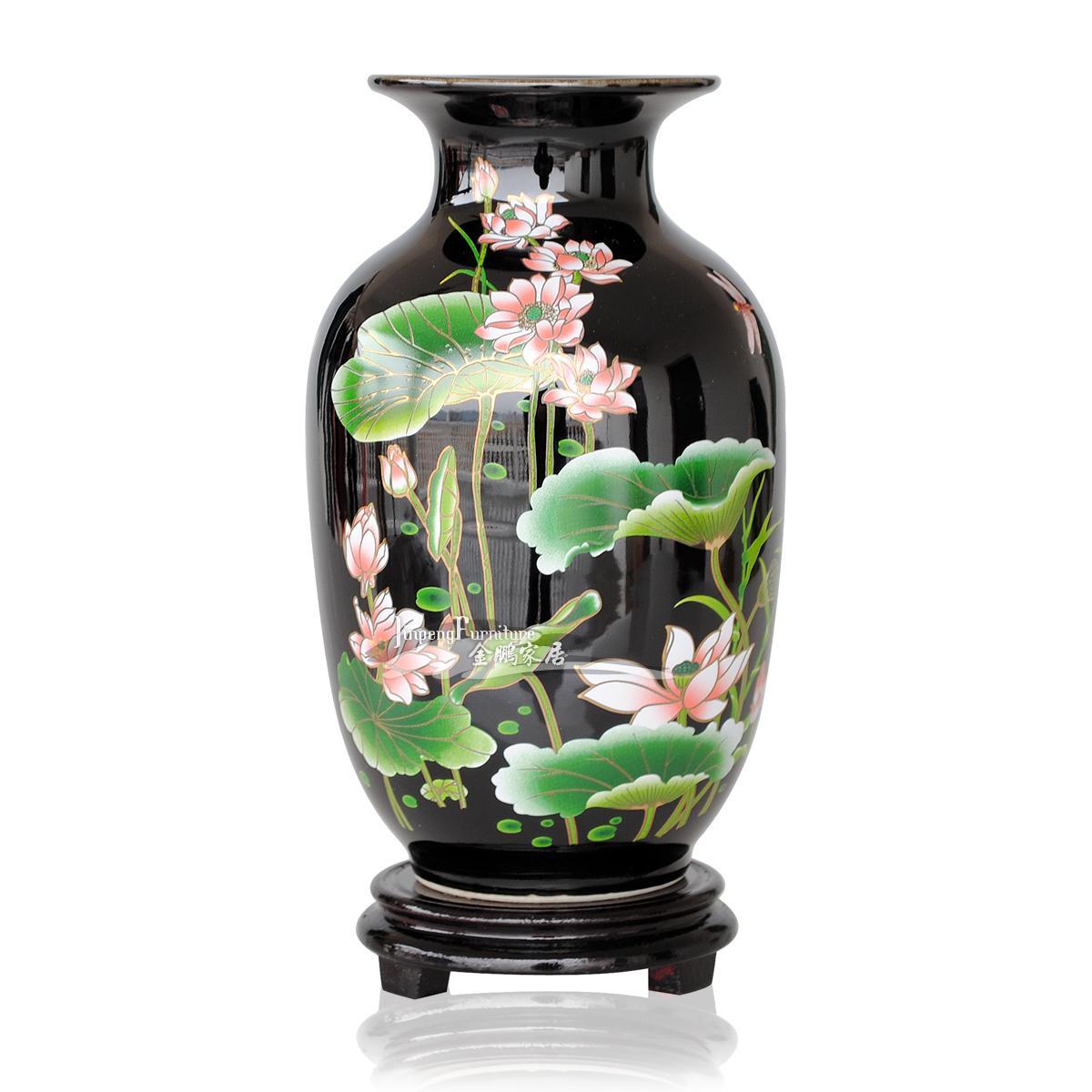 achetez en gros vases noir en ligne des grossistes vases noir chinois. Black Bedroom Furniture Sets. Home Design Ideas
