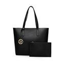 New High Quality Designer Women Leather Handbags Black Shoulder Bags Ladies Casual Handbag Large Capacity Ladies