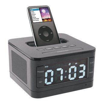 B7 Premium Portable Loudspeaker Mini Speakers Alarm Speaker for Apple Ipod/touch/iPhone 3gs/4/4s/5/5s FM+charging Dock