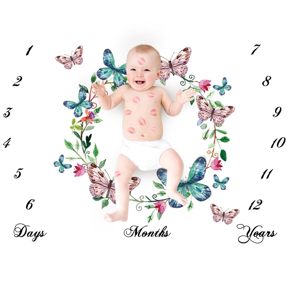 Детское одеяло реквизит для фотосессии буквы унисекс коврик новорожденного aeProduct.getSubject()
