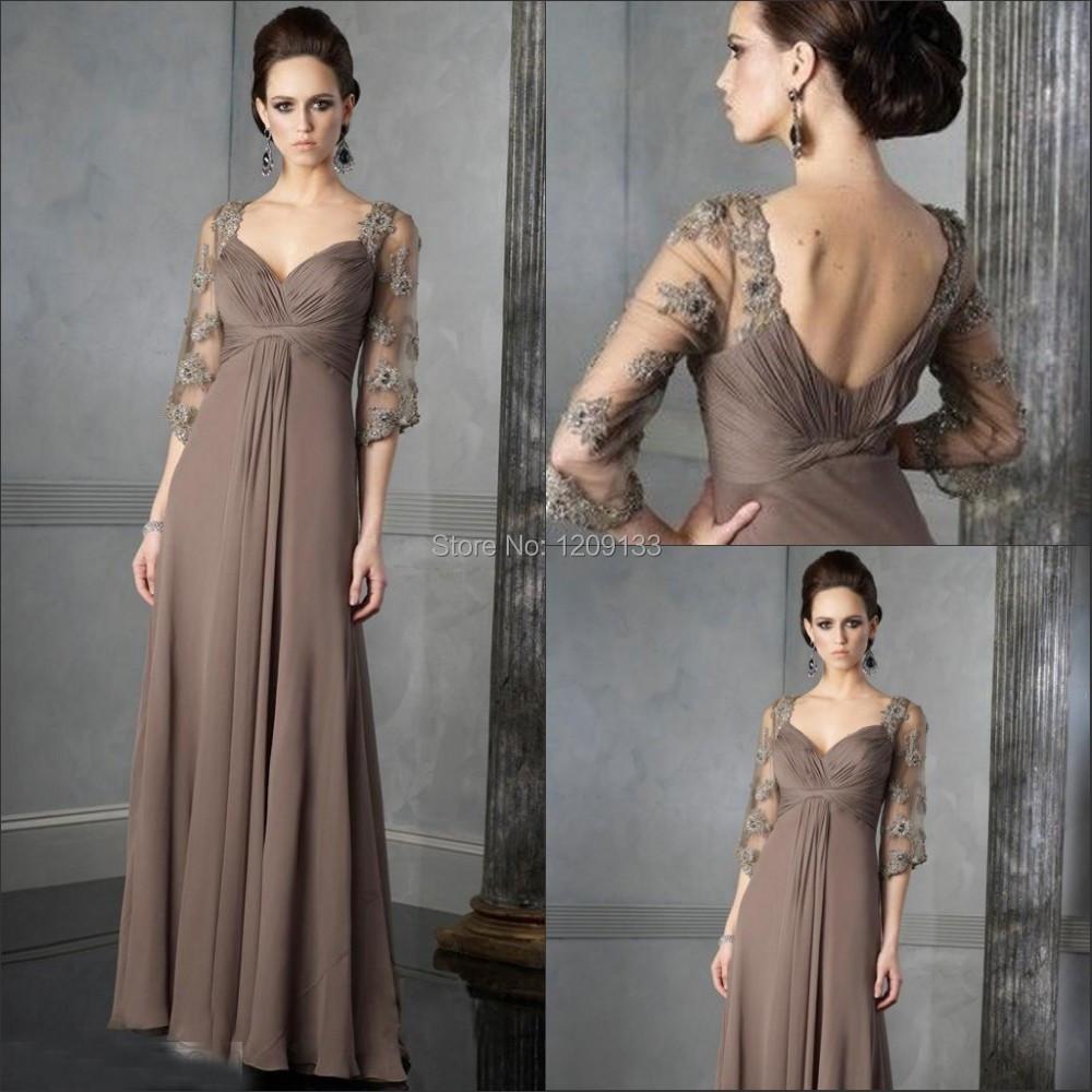Мать платья невесты длинная платья вечернее сексуальный с v-образным вырезом короткий рукав вышивка бисером со складками официальный платья vestidos феста